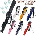 PUPPY'S PAW 仔犬の肉球 セルフスタンド クラブケース (フード&背面フック付きモデル)