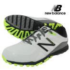 new balance  ニューバランス  NBG1005 MINIMUS ミニマス スパイクレス ゴルフシューズ グレー イエロー US9 27cm 2E USモデル