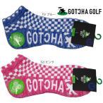 新作 2019春夏 GOTCHA GOLF ガッチャゴルフ 99GG8856 蛍光フェイクレイヤードソックス 靴下プレゼント ゴルフアクセサリー ラウンド用品