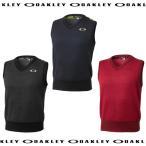 【2016年モデル 在庫限り!まもなく完売。】 OAKLEY オークリー メンズ ニットベスト Bark JQ Sweater Vest 2.0 【433801JP】 ゴルフウェア