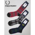 メール便・ゆうパケット フレッドペリー FRED PERRY ミドルソックス (ワンサイズ:メンズ) 2020秋冬新作モデル f19943