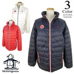 マンシングウェア Munsingwear ゴルフウェア 2WAYダウンブルゾン (M/L/LL寸:レディース) 秋冬 40%OFF/SALE