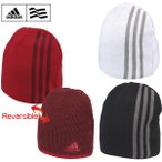 アディダス メンズ リバーシブルビーニー BCV50 新品 15FW adidas帽子男性MEN'SMENS'ニット帽防寒ニットキャップ