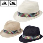 アディダス adidas ゴルフ メンズウエア ストローハット JKF74 新品 サーモハット 帽子