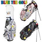 ショッピングキャディバッグ ブルーティーゴルフ 2018 9型 スマイル&カート スタンドバッグ BTG-CB-008 Blue Tee Golf California スタンド式 キャディバッグ JUL2 JUL3