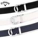 キャロウェイ メンズ Cバックル ホールレス ベルト 241-1992500 セレーションベルト 日本正規品 21SS Callaway 2411992500 ゴルフウェア メンズウェア APR1
