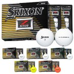 SRIXON(スリクソン) 2017 Z-STAR ゴルフボール 1ダース(12個) 日本仕様 新品 ゼットスター DUNLOP ダンロップ