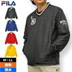 フィラ ゴルフウェア メンズ Vネック ジャケット ブルゾン 蓄熱 撥水 袖脱着 789255 19FW FILA GOLF 789-255