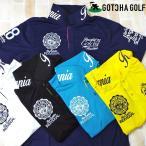 メール便可250円 ガッチャゴルフ メンズ 半袖 ポロシャツ カレッジベーシック 182GG1211 GOTCHA GOLF 春夏 18SS ゴルフ メンズウェア