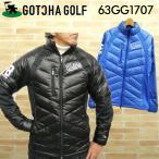 [クーポン有][29%off]GOTCHA GOLF(ガッチャゴルフ) 2016 ストレッチ 切り替え ダウンジャケット 63GG1707[新品] 16FW男性紳士ゴルフウェア