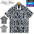カールカナイゴルフ 2021 メンズ 吸汗速乾 UVカット 半袖ポロシャツ 212KG1201 Karl Kani GOLF メール便発送  21SS ゴルフウェア トップス APR2