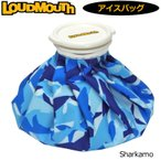 数量限定製造モデル 日本規格 ラウドマウス 2019 アイスバッグ(氷のう) シャーカモ Sharkamo 769933(199) 19SS Loudmouth 氷嚢 暑さ対策 熱中症予防 アイシング