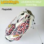 """[割引クーポンあり]【日本規格】Loudmouth/ラウドマウス """"Flagadelic"""" 2016 9型 スタンドバッグ LM-CB0003-031 """"フラガデリック"""" 【新品】キャディバッグ"""