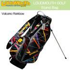 ラウドマウス Loudmouth ゴルフ キャディバッグ 9型 スタンドバッグ LM-CB0003-082 ボルケーノレインボー 新品 2017 日本規格 17SS スタンド式 ゴルフ用バッグ