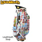 日本規格 ラウドマウス 2019 9型 キャディバッグ ラウドマウス スープ LM-CB0009/769996(177) 19SS Loudmouth Bag ゴルフ用バッグ 派手