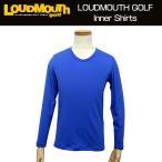 ラウドマウス Loudmouth ゴルフ メンズウエア インナーシャツ 長袖 726008 (995)ブルー 新品 2016 日本規格 Blue
