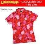 ラウドマウス Loudmouth ゴルフ レディースウエア ポロシャツ (068)Sweethearts スウィートハート 767659 2017 春 夏 新品 日本規格 17SS