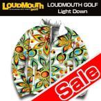 [クーポン有][65%off][男女共用]ラウドマウス ライトダウンジャケット Shagadelic Whiteシャガデリック ホワイト[新品]Loudmouthメンズレディースゴルフウェア