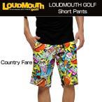 ラウドマウス Loudmouth ゴルフ メンズウエア ショートパンツ Slim County Fare スリム カントリーフェア 新品 ハーフパンツ