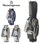 マンシングウェア 2020 9.5型 キャディバッグ MQBPJJ03 20SS MunsingWear メンズ 男性用 紳士用 ゴルフ用バッグ DEC3 JAN1