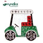 メール便発送OK Navika ナビカ クリスタル クリップマーカー #117 Golf Cart 19SS ボールマーカー 車 カート ゴルフ用品 小物 キラキラ