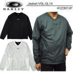 オークリー Oakley ゴルフ メンズウエア Vネック プルオーバー ウインドジャケット 412397JP 秋冬 新品 16FW 袖着脱式