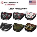 [クーポン有][US直輸入]Odyssey(オデッセイ) マレット型 パターカバー MALLET PUTTER COVERS[新品]
