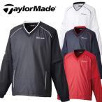 [クーポン有][33%off]テーラーメイド メンズ長袖Vネックプルオーバーウインド CBZ57 袖着脱可[新品]TaylorMade15FW男性用ブルゾンジャケット袖取れゴルフウェア
