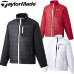 [クーポン有][60%off]テーラーメイド メンズ長袖スタッフドフルジップウインドジャケット CBZ58[新品]TaylorMade男性用ウインドブレーカーブルゾンゴルフウェア