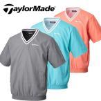 テーラーメイド TaylorMade ゴルフ メンズウエア ジャケット 半袖 Vネック プルオーバー SY376 新品 14SS