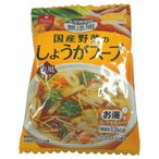 アスザックフーズ スープ生活 国産野菜のしょうがスープ 個食 4.3g×60袋セット〔軽減税率対象商品〕