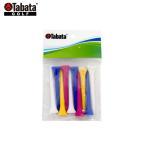 【即納】タバタ GV-0476 プラスリムロングティー 10本入り(70mm) [TABATA] 【ラウンド用品】【ゴルフ小物
