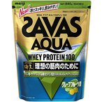 (取寄)ザバス CA1327 アクア ホエイプロテイン100 グレープフルーツ味 約40食分(840g) [SAVAS](プロテイン)(サプリメント)【軽減税率対象商品】