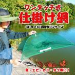 フィッシング 釣り 用品 ワンタッチ式 魚仕掛け網 84177