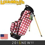 ラウドマウス☆loudmouth スタンドバッグ Red Tooth Stand Bag 2.0 LMSBRT