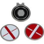 マックスフライ メタル ボールマーカー & ハットクリップセット(Maxfli Metal Ball Marker and Hat Clip Set) MX164 【200円ゆうメール対応】