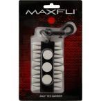 マックスフライ ラウンドツールホルダー (ゴルフティー12本/ボールマーカー3個)(Maxfli Golf Tee Carrier) MX209 【200円ゆうメール対応】