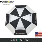 パワービルト☆POWER BILT ダブルキャノピー 62インチ ゴルフアンブレラ (Windcutter Umbrella) PB702281