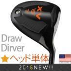 ゴルフ パーツ ドライバー ウッド ヘッド 単品 エーサー XV ドロー チタン ドライバー ヘッド (右打用/左打用) TM12871