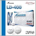2016年モデル AKIRA アキラ ゴルフボール LD-400 高反発ボール 1ダース(12個入り) ※平日即納商品分