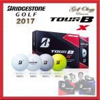 2017年モデル BRIDGESTONE GOLF  ブリジストンゴルフ ゴルフボール TOUR B X 1ダース ※平日限定即納商品