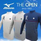 THE OPEN Mizuno全英オープン 吸水速乾ハイネック長袖シャツ QUICKDRY PLUS