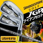 USモデル ブリヂストン JGR HYBRID FORGED アイアンセット 6本セット (6I〜9I、PW1、PW2) UST Mamiya RECOIL IRON BRIDGESTONE ゴルフ