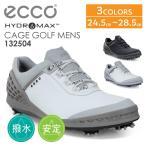 エコー  ゴルフシューズ GOLF CAGE メンズ BLACK EU 39 24.5 cm  3E