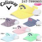 キャロウェイ Callaway ゴルフウェア レディース パターン メッシュ バイザー ウィメンズ 17 JM 247-7990805