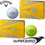 キャロウェイ NEW WARBIRD ゴルフボール [12球入り] 1ダース