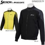 スリクソン by デサント メンズ ゴルフウェア フルジップ ハイブリッド ニットジャケット SRM2057F
