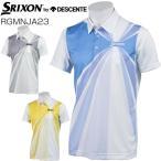 スリクソン by デサント メンズ ゴルフウェア サンスクリーン 半袖ポロシャツ RGMNJA23 M-LL