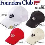 ファウンダース メンズ ゴルフウェア クリップ&マーカー付き キャップ FC-8101A