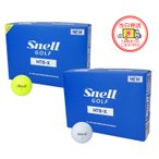 スネルゴルフ MTB X ゴルフボール 1ダース(12球入り) 国内正規品 日本語パッケージ